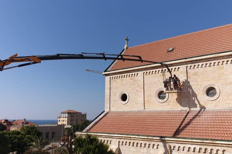 Parafia św. Antoniego w Jaffie: Kościół wewnątrz Kościoła