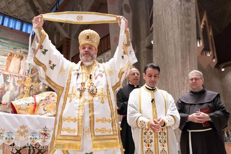 Święcenia kapłańskie o. Raffaele w obrządku grekokatolickim