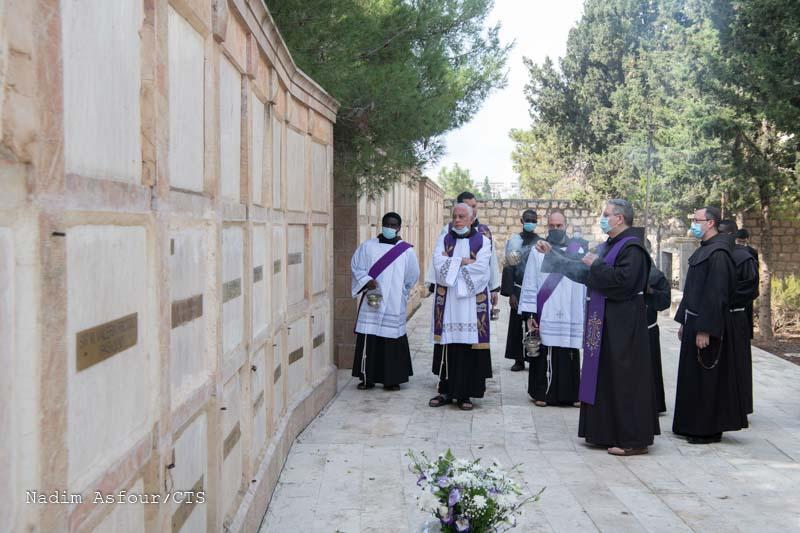 Jerozolima: wspomnienie wszystkich wiernych zmarłych