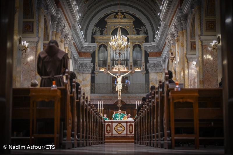 Msza święta za króla Belgii Filipa