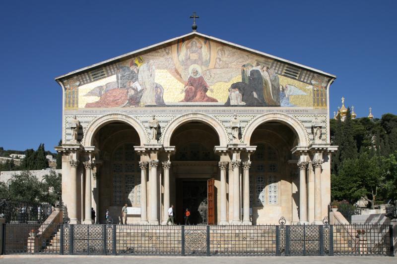 Msza św. w Getsemani jako zadośćuczynienie za akt wandalizmu