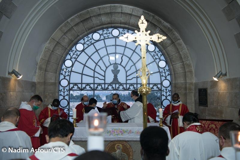 Sanktuarium Dominus Flevit – pierwszą stacją nawiedzania miejsc Męki Jezusowej