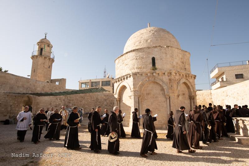 Read more about the article Uroczystość Wniebowstąpienia Pańskiego w Jerozolimie