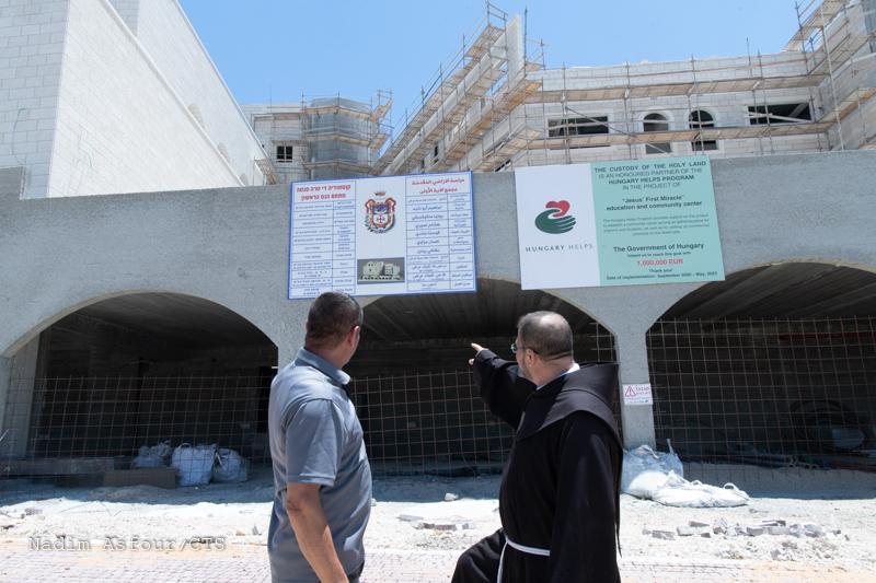 Read more about the article Kana Galilejska – trwają prace nad budową nowej szkoły